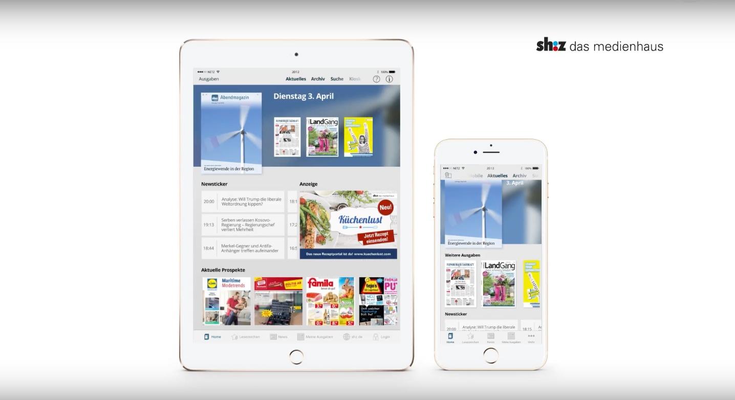 new shz app